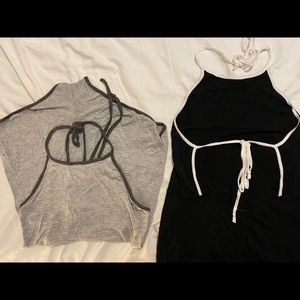 2 Fashion Nova rompers